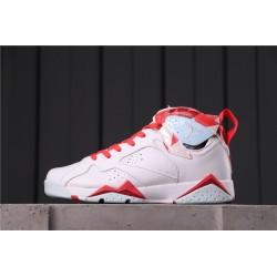 Air Jordan 7 Topaz Mist White Red 442960-104