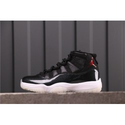 Air Jordan 11 72-10 Black 378037-002