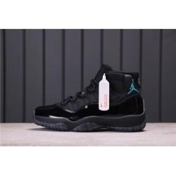 Air Jordan 11 GS Gamma Blue All Black 378037-006
