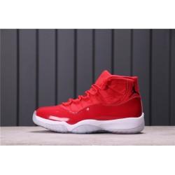 Air Jordan 11 Gym Red Red White 378037-623