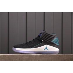 Air Jordan 32 Board Room Black Blue AA1253-016