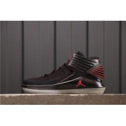 Air Jordan 32 MJ Day Black Red AA1253-001