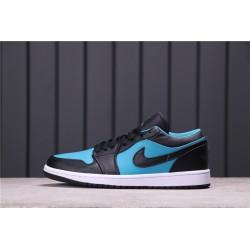 Air Jordan 1 Low Black Blue 553558-026