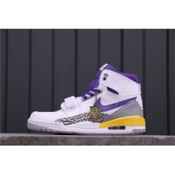 Air Jordan Legacy 312 Lakers White Grey Yellow AV3922-157