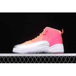 Air Jordan 12 Hot Punch Pink White 510815-601