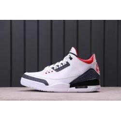 Air Jordan 3 SE DNM Fire Red White Black CZ6431-100