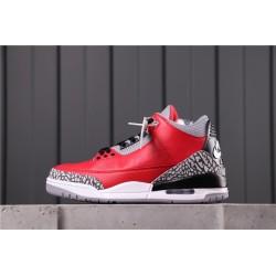 Air Jordan 3 Red Cement Red Grey CK5692-600