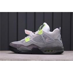 Air Jordan 4 SE Neon Grey Green CT5342-007