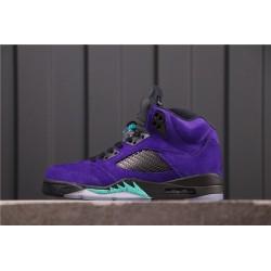 Air Jordan 5 Alternate Grape Purple Black Blue 136027-500