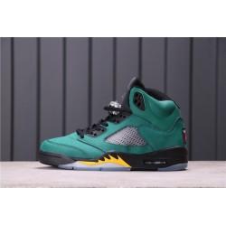 Air Jordan 5 Oregon Ducks Green Black 454803-535
