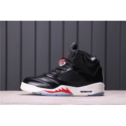 Air Jordan 5 Oregon Ducks Black Red CT8480-001