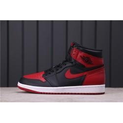 Air Jordan 1 Bred Red Black 555088-001