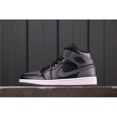 Air Jordan 1 High Dark Grey Brown Black 554725-041