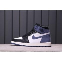 Air Jordan 1 High Blue Moon Blue White Black 555088-115