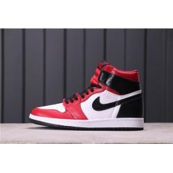 Air Jordan 1 Satin Snake Red White Black CD0461-601