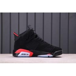Air Jordan 6 Black Infrared Black Red 384664-060