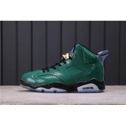 Air Jordan 6 Hare Dark Green 384664-193